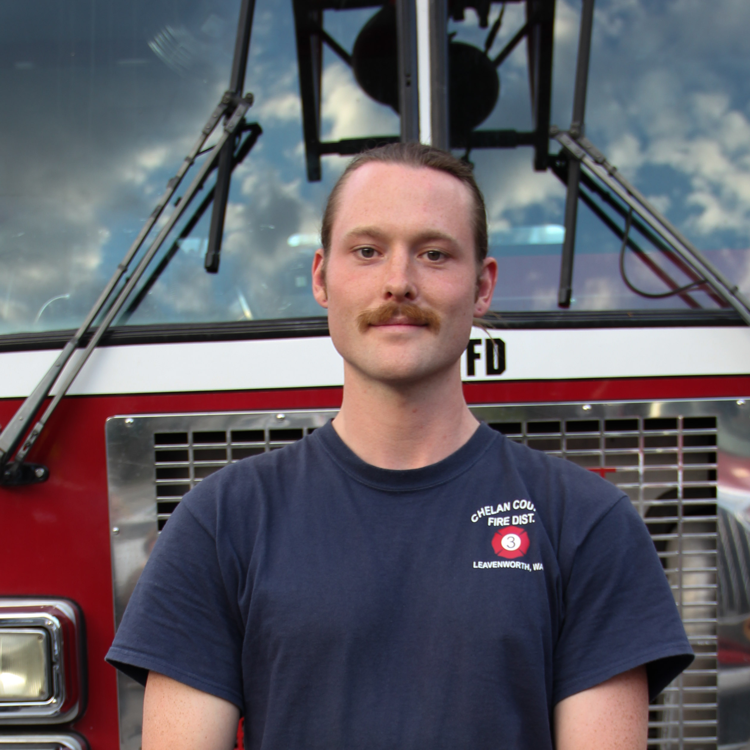 Volunteer Firefighter Charlie Petersen