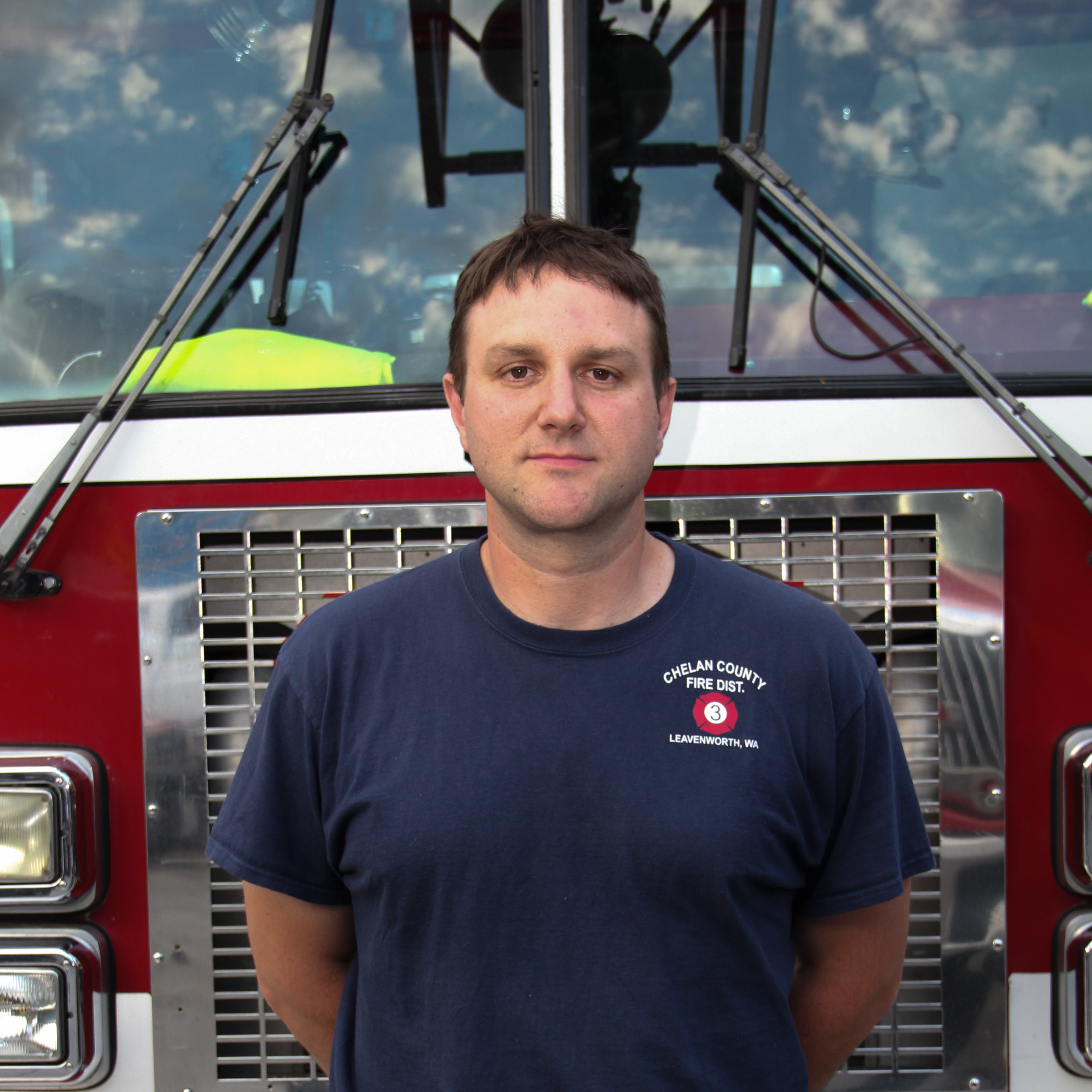 Volunteer Firefighter Erik Bishop